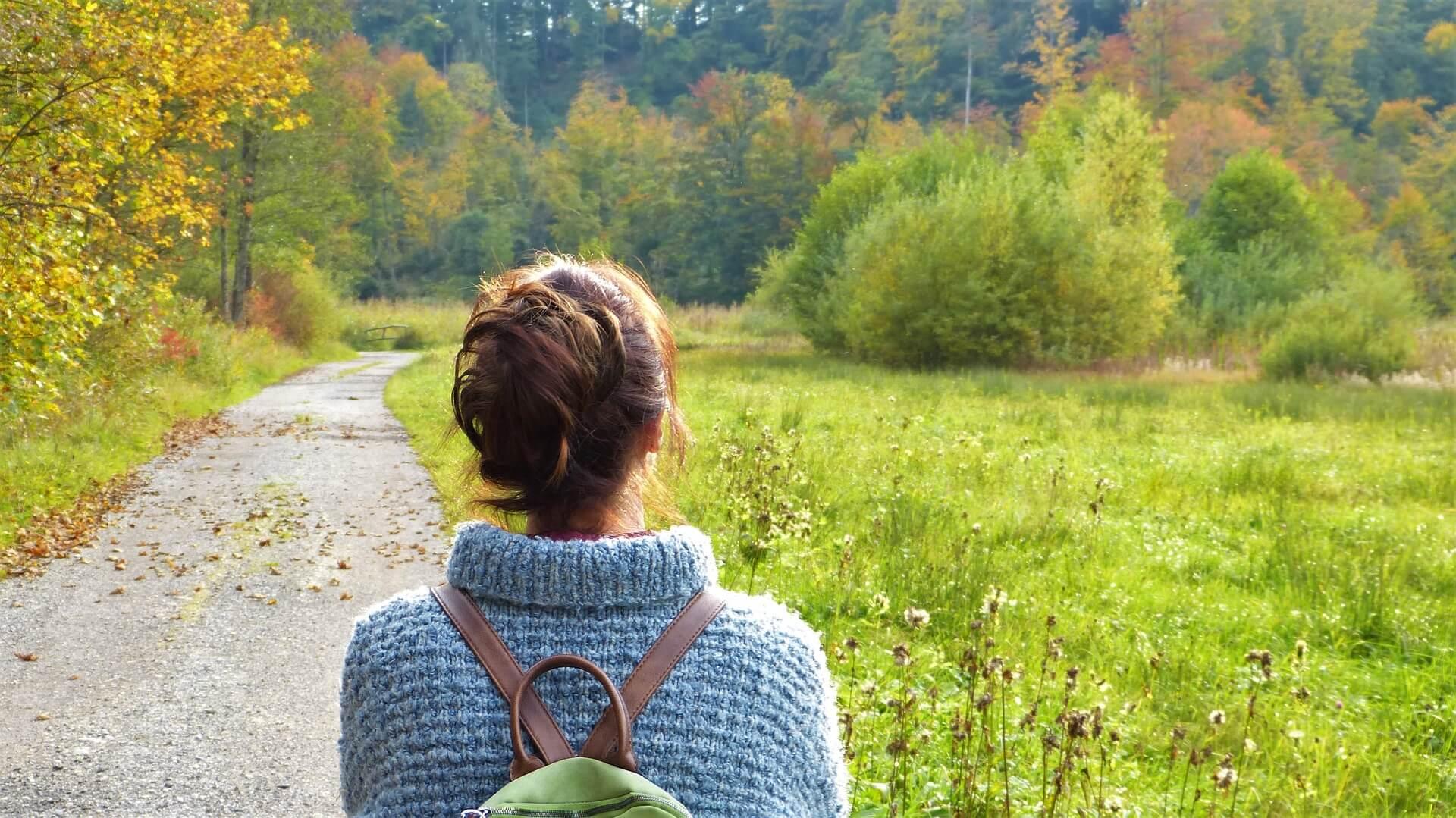 meditatie een zonnige herfstdag door tineke van urk