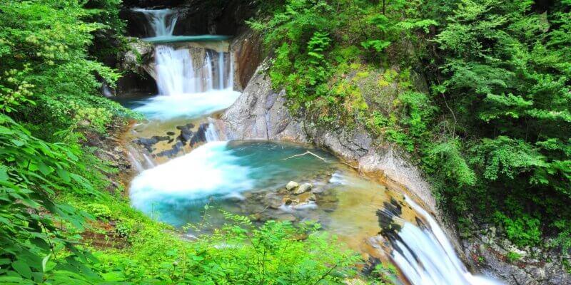 De helende waterval, een meditatie