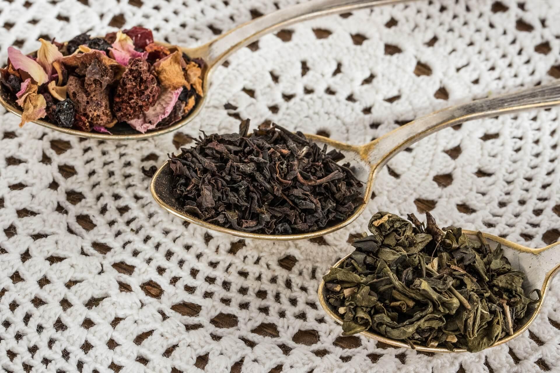 wereld van de thee