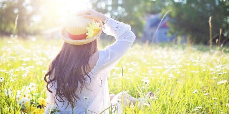Meditatie: Kleurrijk bloemenveld