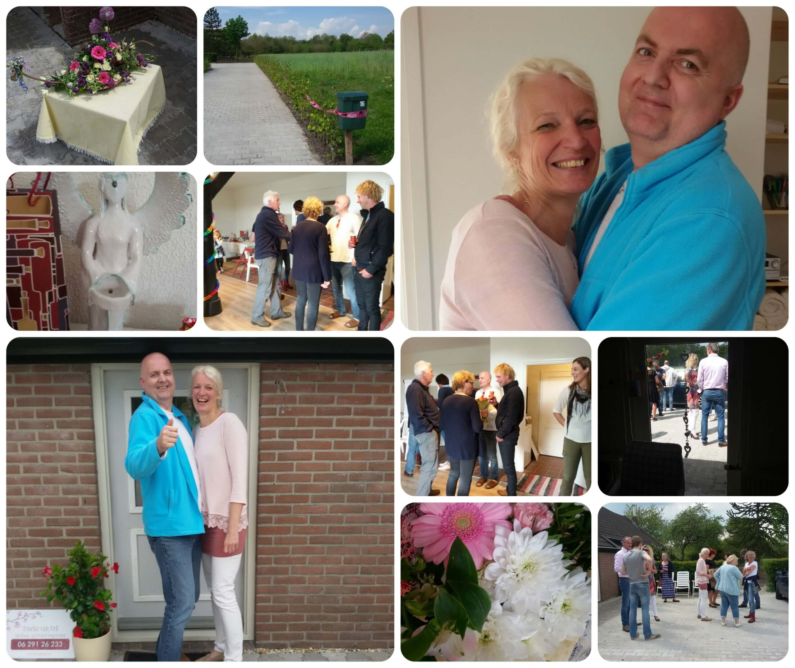 Collage van de opening in Balkbrug