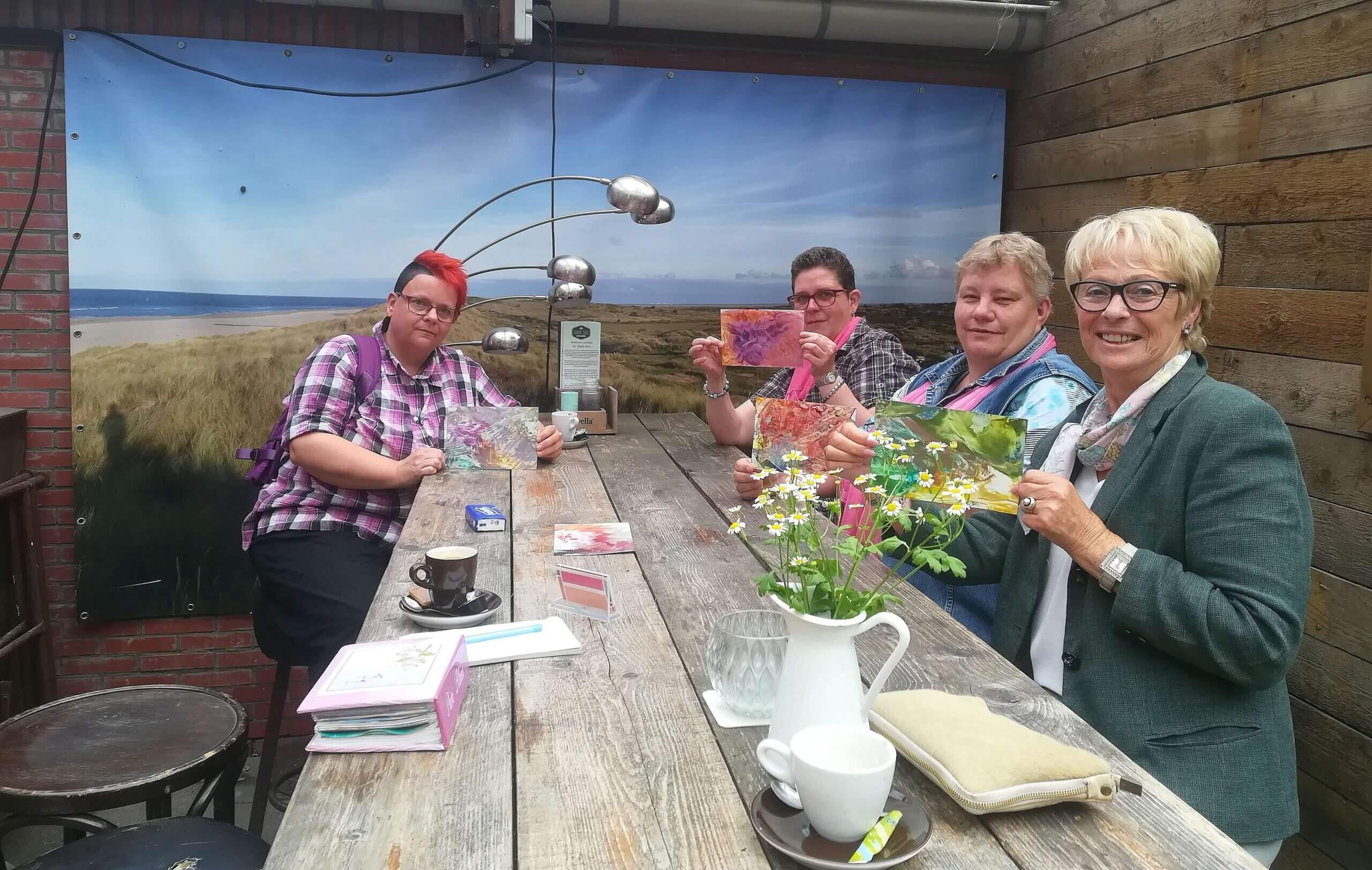workshop bijenwastekenen Zuidlaren 2 juni 2018