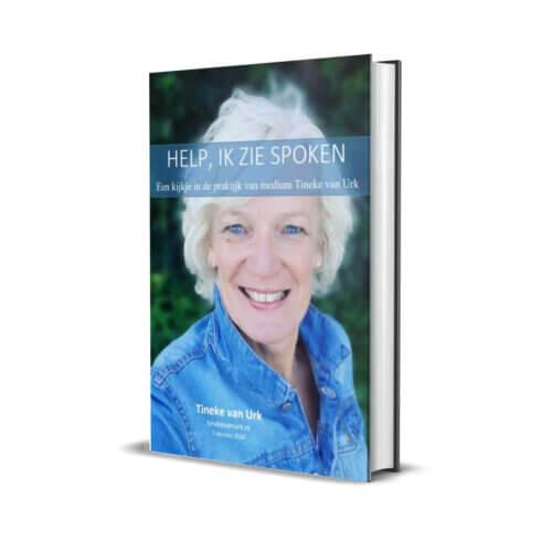 Boekomslag van TIneke van Urk's E-book: Help ik zie spoken